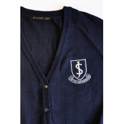 JS Navy Cardigan