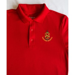 HS Ladys Red Polo