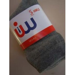 Gents Grey Socks (5 Pack)