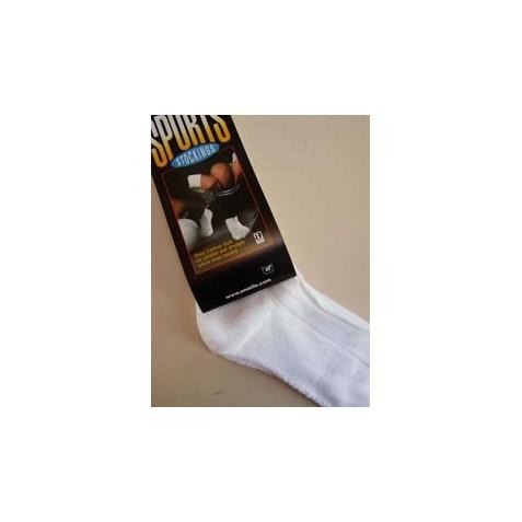 White Sports Socks