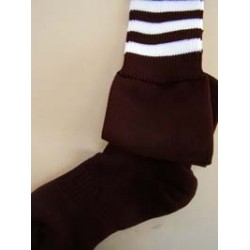 Navy/Wine St. Wolstans Sports Socks