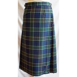 Navy Check Kilt
