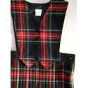 Black Stewart Pinafore
