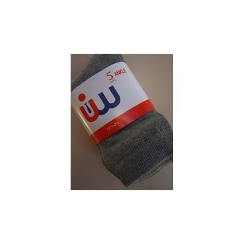 Gents Grey Socks (5 Pack)