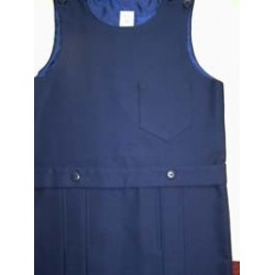 Navy Classic Pinafore