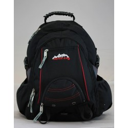 Bolton Black Back Pack