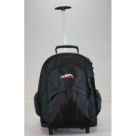 Wheelie Back Pack Black