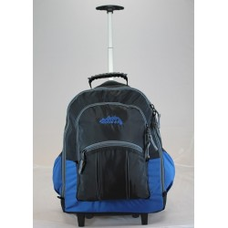 Wheelie Back Pack Black/Blue