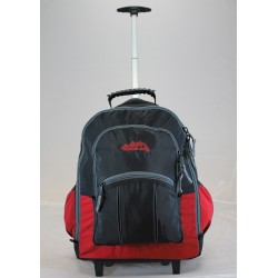 Wheelie Back Pack Ultra Black/Red