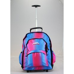 Wheelie Back Pack Usher Blue/Pink