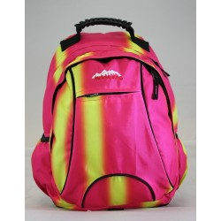 Usher Back Pack Pink/Yellow